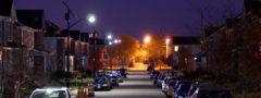 Iluminación solar para calles y carreteras