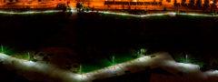 Iluminación solar para parques y veredas